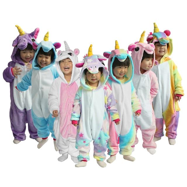 новый год кигуруми для детей Обувь для девочек Обувь для мальчиков зимние  детские фланелевые кингуруми пижамы e0d016f969cca