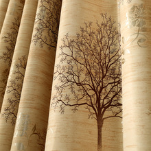 Modern Luxury Printed Curtain For Living Room Bedroom Kitchen Decoration Blackout Home Decorative Curtains Drapes