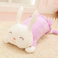 Büyük uyku yastık bebek tavşan peluş oyuncak bez bebek bebek doğum günü hediyesi kız arkadaşı hediyeler bal için