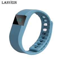 LANVEIN TW64 Good Bracelet Sports activities Exercise Health Tracker Bluetooth Wristband Sleep Pedometer Smartband for IOS & Android