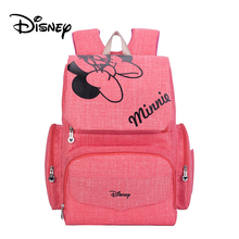 Disney Mickey Minnie Baby Diaper Bags Bolso Maternal Stroller Bag Nappy Backpack Maternity Bag Mommy Bag цена 2017