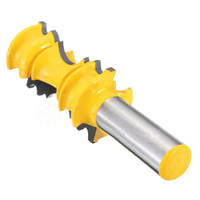 Rail Molding Router Bit 1 2 Shank Carbide Woodworking Milling Cutter Cabinet Plywood Wood Cut Cutting