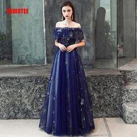 f0bc277a24 ... suknia Robe De wzór koronki little star księżyc łodzi szyi. FADISTEE  New Arrival Evening Prom Party Dresses Vestido De Festa Gown Robe De Soiree  Lace ...