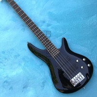Hot!!! 5 string electric bass, red color, classic tone, exquisite workmanship, beautiful production hardware,free shipping