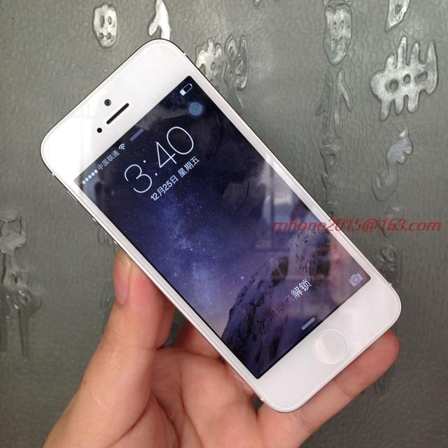 "Apple iPhone 5 Used (90%New) Mobile Phone GSM 3G 16GB 32GB 64GB ROM Wifi 8MP 4.0"" IOS Cellphone Unlocked Original 2"