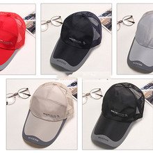 Baseball-Cap Fishing-Cap Sports Casual Summer of Sunscreen Sun-Hat Quick-Drying The Korean-Version