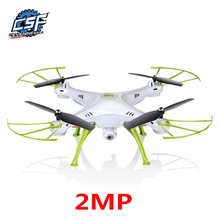 2MP RC Drone Syma X5HW FPV RC Quadcopter mini Drone with Camera 2.4G 6-Axis RC Helicopter Drones With Camera HD dron aircraft