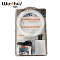 Westbay 6W RGB Optic Fiber Light Kit PMMA Plastic Optical Fiber Kit For Car Decoration Ceiling Star End Glow Fiber Optic Cable