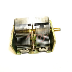 Image 3 - New people made 246 type 2*460PF radio dual variable capacitor