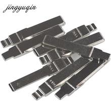 jingyuqin 15pcs/lot HAA Flip Remote Car Key Blanks For AUDI Fit VW PASSAT BORA SEAT SKODA #31 HU66 Key Blade