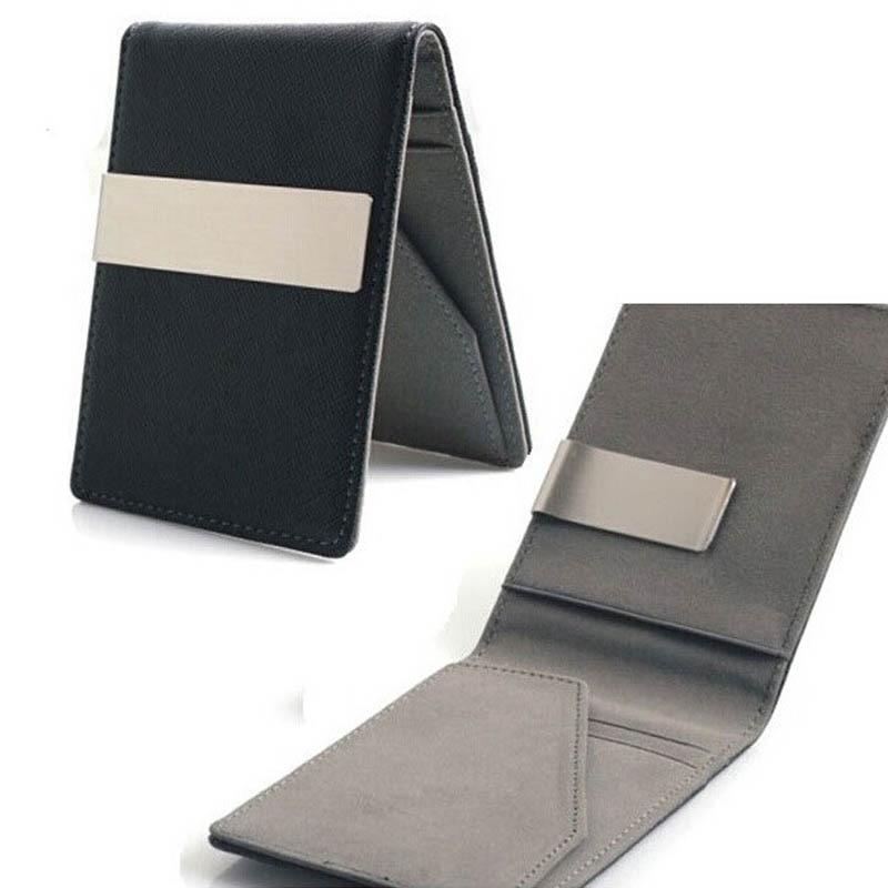 Minimalist Slim Wallet For Men Women Slimline Money Clip Wallets Ultra Thin Mini Small Male Female Compact