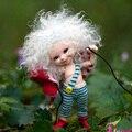 Oueneifs fairyland realpuki soso 1/13 bjd muñeca sd modelo reborn baby dolls eyes alta calidad toys shop maquillaje