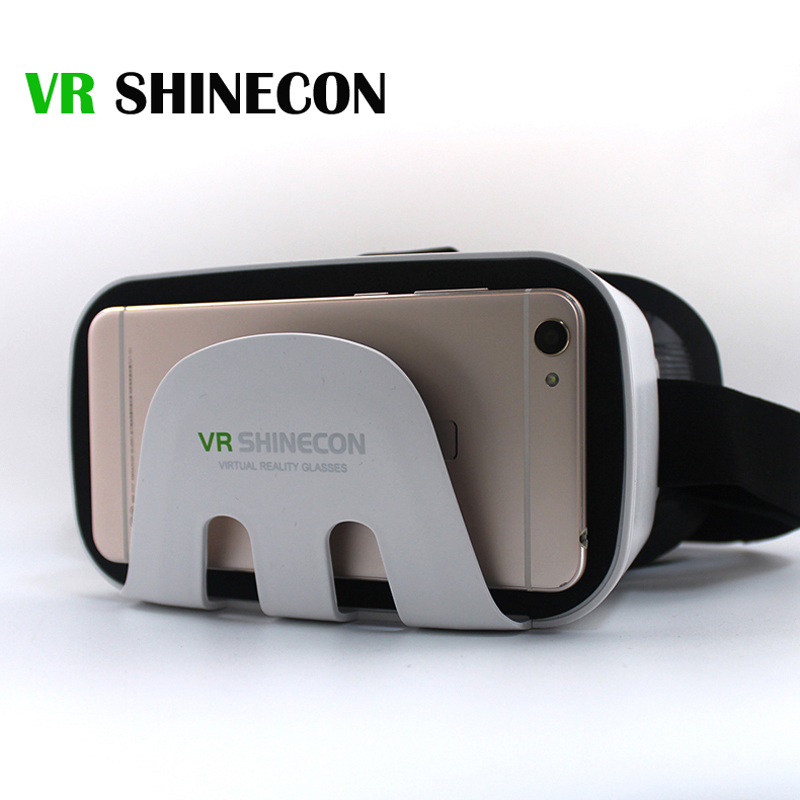 2017 vr shinecon realidad virtual 3d vidrios vrbox google cartón gafas para 4.7-