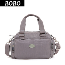 BOBO Brand Fashion Women Shoulder Bags Waterproof Nylon Messenger Bags Casual Travel Handbags Female Multilayer Bag Bolsos Mujer 2017 new crossbody chest bags women handbags casual female messenger cross body bag travel shoulder bags back pack bolsos mujer