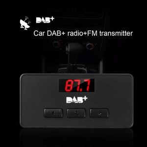 Image 3 - JINSERTA Mini DAB/DAB + راديو FM موالف استقبال عصا مع LED عرض الصوت الرقمي البث 3.5 مللي متر AUX واجهة