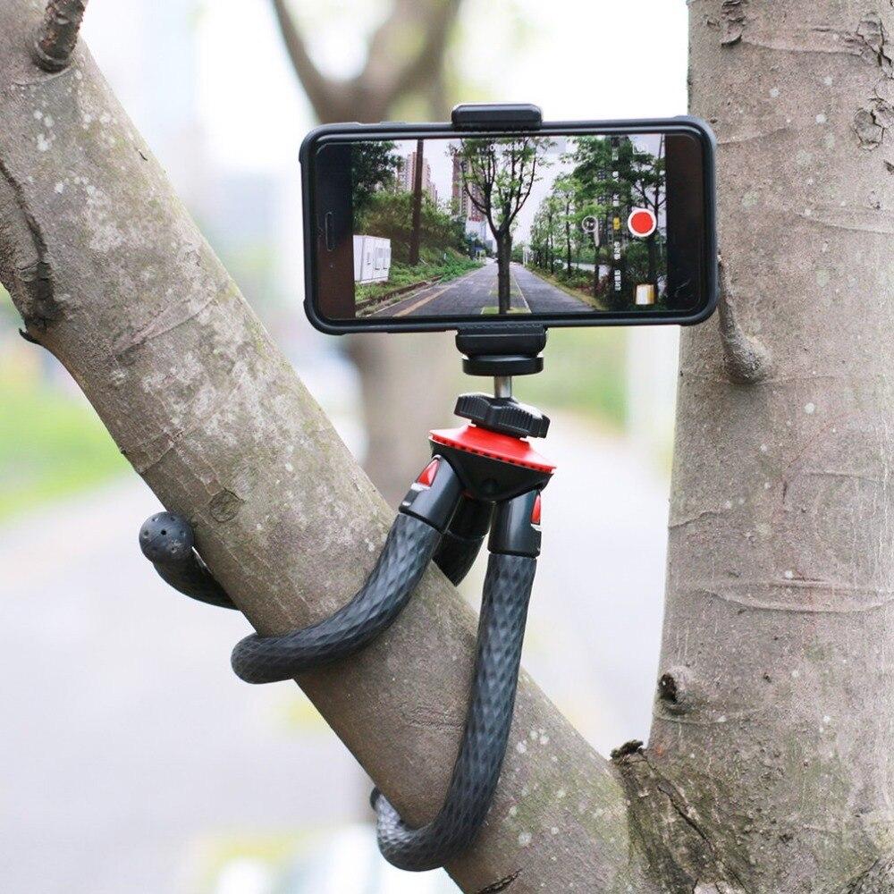 2018 Neue Flexible Mini Reise Stativ Für Dslr Kamera Mini Octopus Stativ 360 Grad Drehbare Swivel Mount Gorilla Stehen Strukturelle Behinderungen