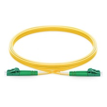 2m  LC UPC to Fiber Optic Patch Cord Duplex 2.0mm PVC Optical Jumper Single Mode FTTH Cable
