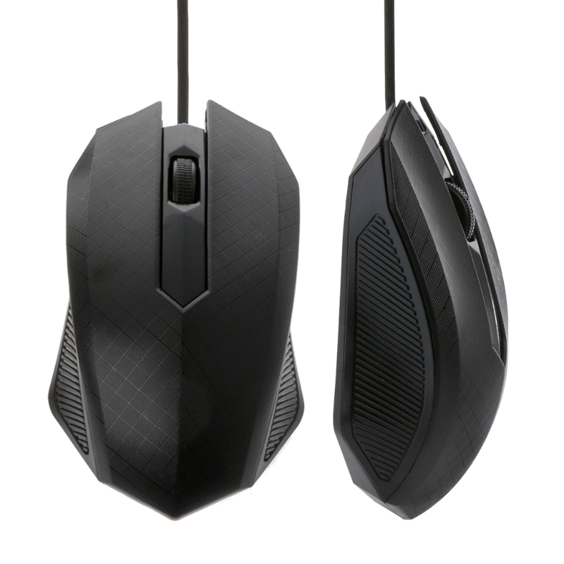 Gaming Mouse 3 Buttons Optical USB Wired Mouse For Computer Laptops