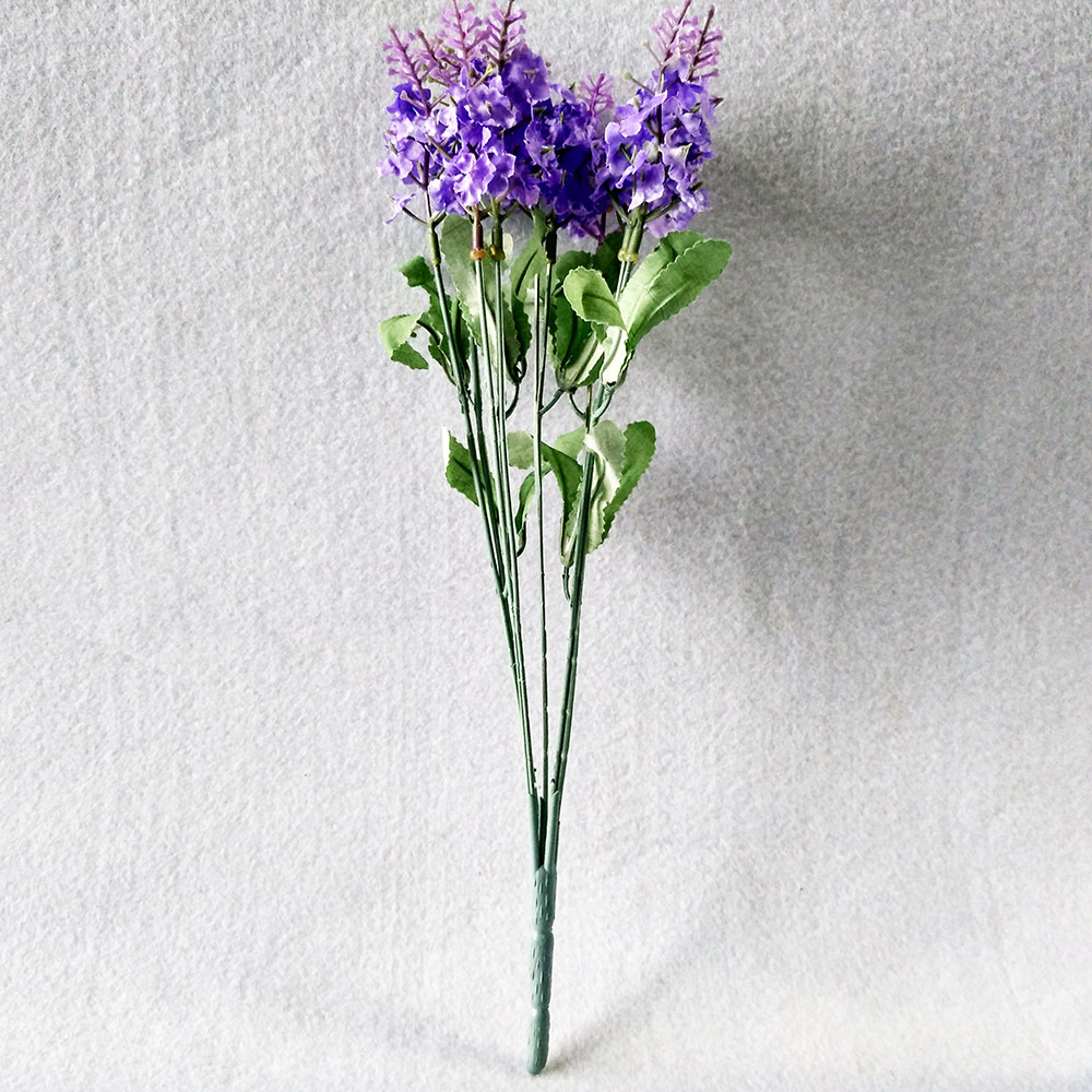 10 Buket Buatan Ungu Bunga Lavender Putih Festival Pesta Bunga Hias  Pernikahan Hari Natal Rumah Stiker e6caaebc30