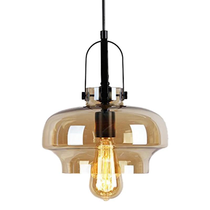 Vintage borostyán színű, függőleges lámpa, világos, - Beltéri világítás
