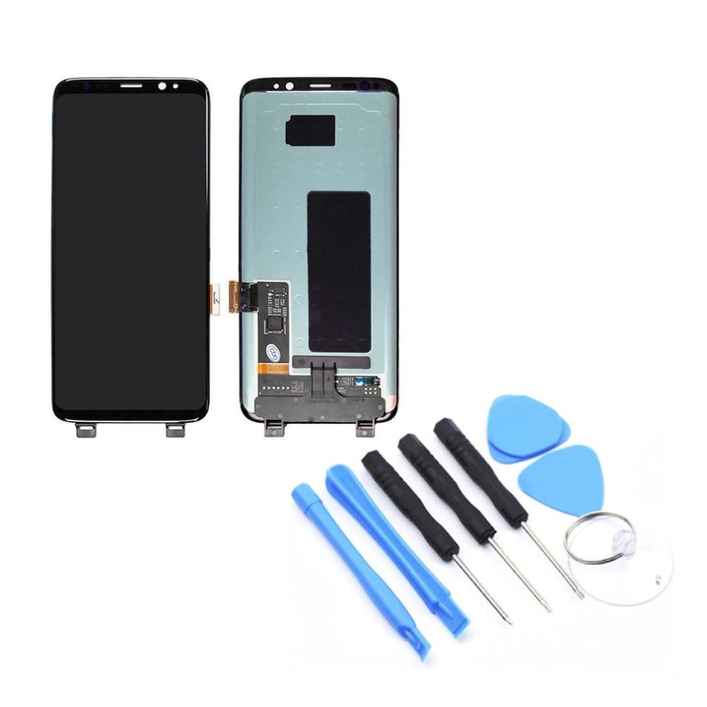 Для Samsung S8 Plus G955F/G955AVTP ЖК дисплей сенсорный экран планшета Ассамблеи без рамки мобильного телефона Запчасти для авто