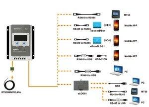 MPPT EPEVER 40A 30A 20A 10A 12В 24В солнечные панели системы батареи 12В 24В Авто Работа зарядное устройство регулятор Tracer4210AN ЖК-контроллер