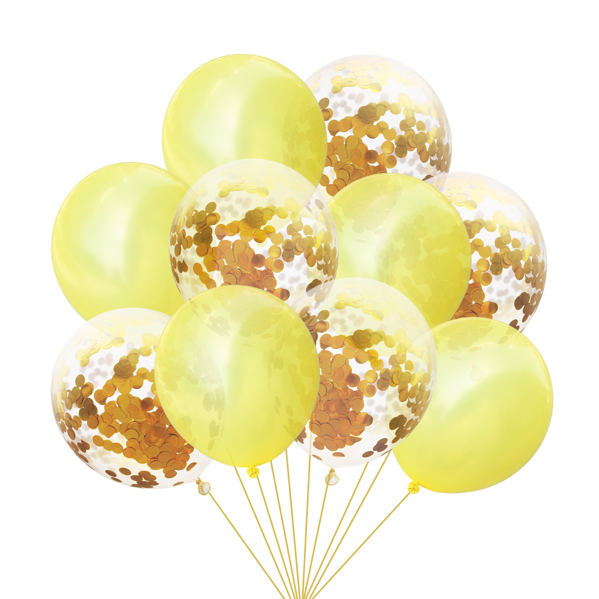 10pcs Set Multicolor Confetti Latex Balloons Wedding Decoration Balloon Happy Birthday Party Decor Baby Shower Festival Supplies in Ballons Accessories from Home Garden