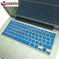 50pcs Wholesale Sweden Swedish Colors Silicone Keyboard Cover Skin Protection For Mac Macbook Air Pro Retina