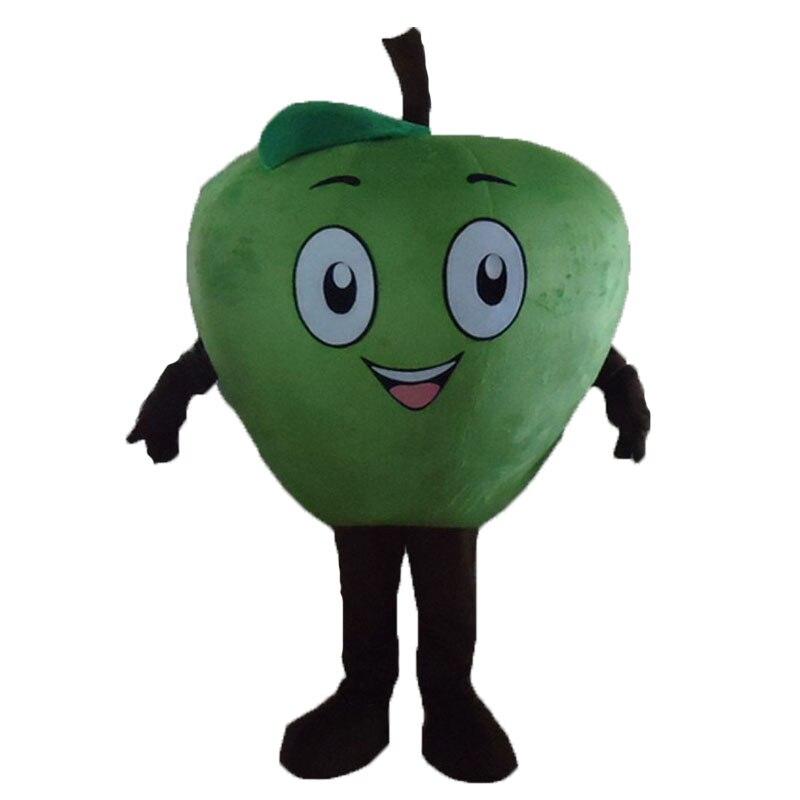 Высокое качество красная Apple Маскоты костюм персонажа из мультфильма для взрослых маскарадный костюм на Хэллоуин карнавальные костюмы