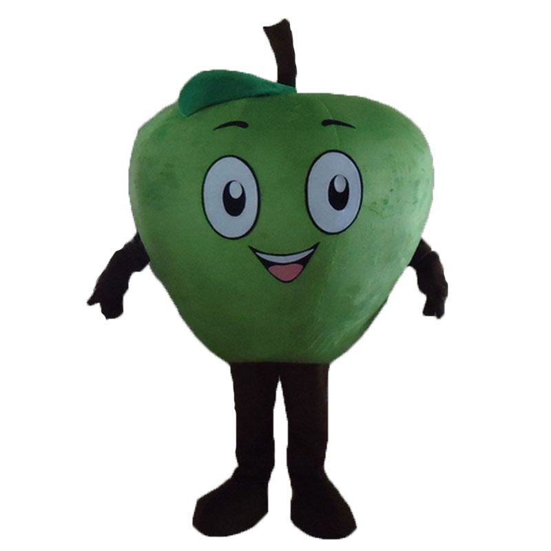 New Product  High quality Little red Apple Mascot Costume Cartoon Character Costume Adult Fancy Dress Halloween