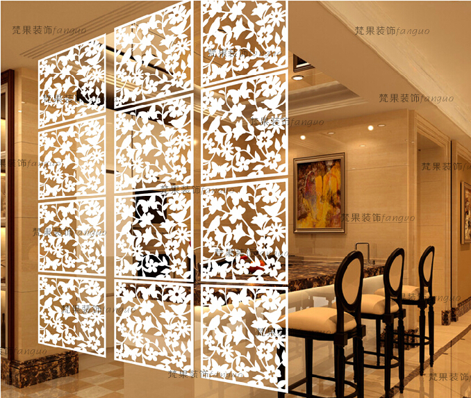 Online Shop Entranceway Hanging PVC Carved Cutout Carving Room Divider  Screen Partition Wall Biombo Room Dividers Partitions 8pcs/lot | Aliexpress  Mobile