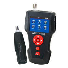 Wholesale Handheld Network Cable Tester Error Detector PING POE Function Multi Function Digital Cable Length Tester for RJ45 RJ11 BNC Coax
