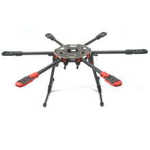 Tarot 680PRO Pure Carbon Fiber Rack 680 PRO 6 Axis Multicopter Folding Hexacopter Aircraft Frame with Landing Skid Gear TL68P00