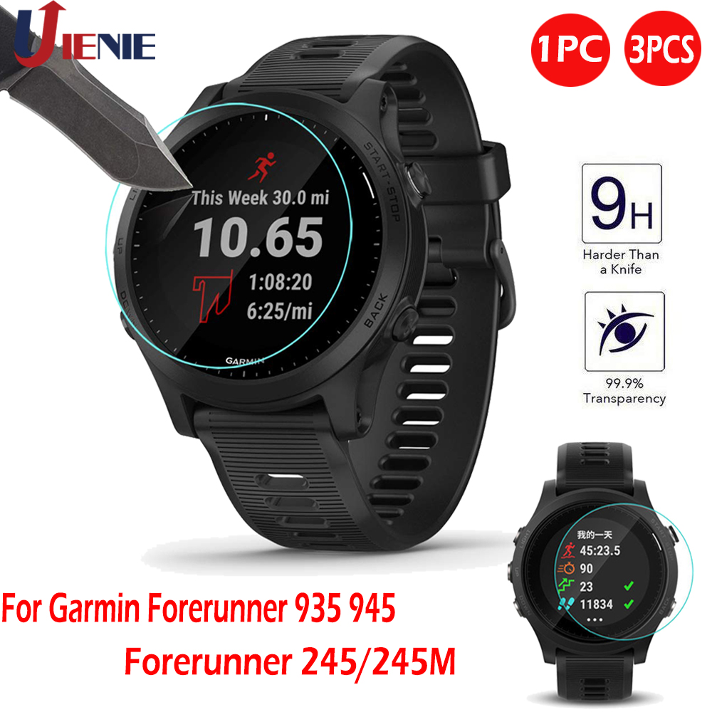Tempered Glass Screen Protector Film For Garmin Forerunner 935 945 245 245M 45 Sport Smart Watch Bracelet Protective Film