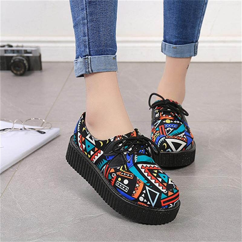 Fashion 2018 Women Flats Female New Summer Comfortable Shoes Women Casual Breathable Vintage Ladies Shoes Footwear DBT735 tesilixiezi new spring summer fashion candy color bling flats platform shoes wegde breathable women casual shoes footwear