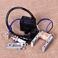 Nueva Bobina de Encendido + Magneto Estator bobina + Bujía Encajar para 49cc 50cc 60cc 80cc Motor de 2 Tiempos Motor De Bicicleta Motorizada bicicleta