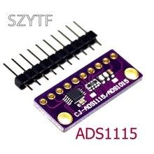 I2C ADS1115 프로그래머블 게인 앰프가있는 16 비트 ADC 4 채널 모듈 Arduino RPi 용 2.0V ~ 5.5V