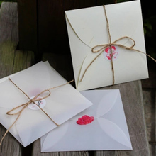 10pcs/lot Creative Invitations Packaging Envelope High - Grade Square Envelopes DIY Scarf