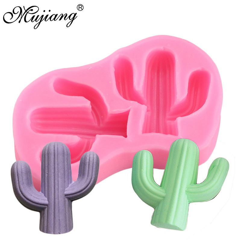 3D Cactus Candle Molds Silicone Soap Mold DIY Craft Wax Resin Plaster Mould