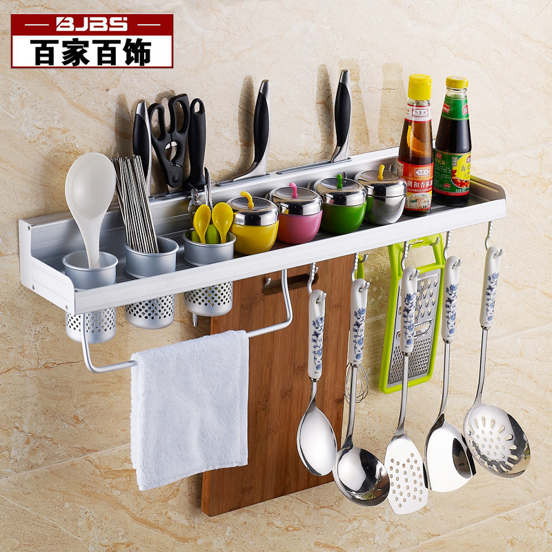 One Hundred One Hundred Decorative Kitchen Accessories Multifunction Tool  Holder Rack Shelf Space Aluminum Spice Rack Kitchen Su On Aliexpress.com |  Alibaba ...
