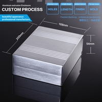 YGS-023 168*54*100/6.6 ''x 2.12'' x 3.93 ''(wxhxl) mm de aluminio pcb shell vivienda recinto suministro
