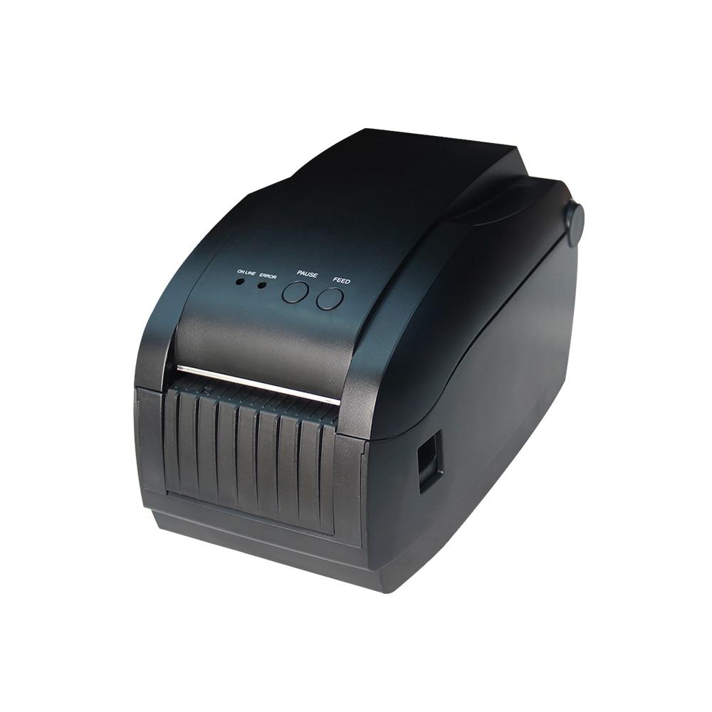 Supermarket Mall Cafe Cashier Printer New Thermal Printer Can Print Bar Code Small Printer DTP360