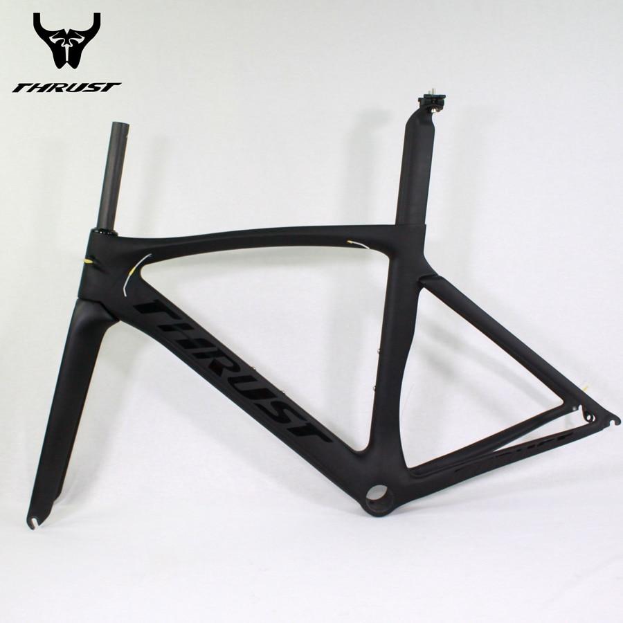 ᗑBrand THRUST Carbon Bike Frame Alloy Color Design Bicycle Frames ...