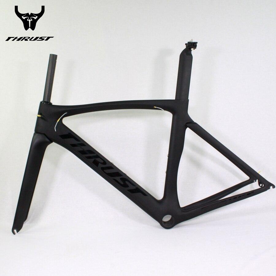 Marke THRUST Carbon fahrradrahmen Legierung Farbe Design ...