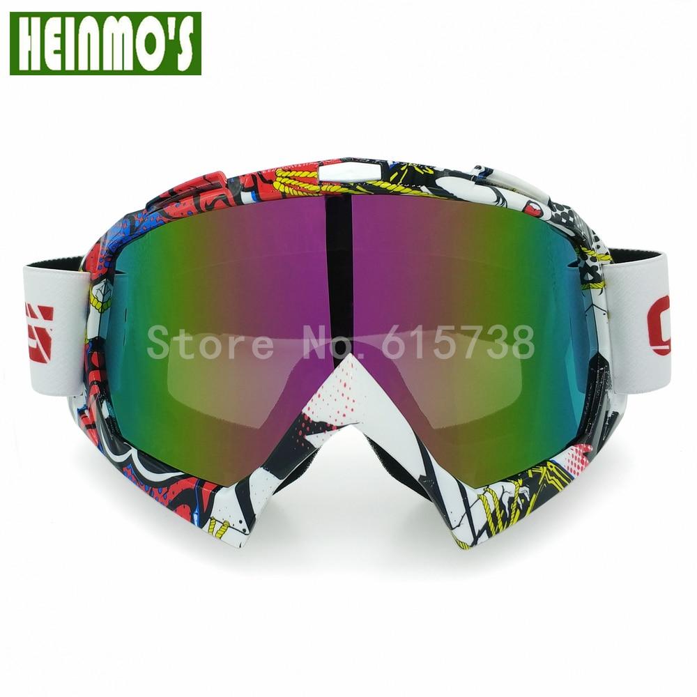 Motocross Gafas de protección Gafas de snowboard Hombres Gafas al - Accesorios y repuestos para motocicletas - foto 6