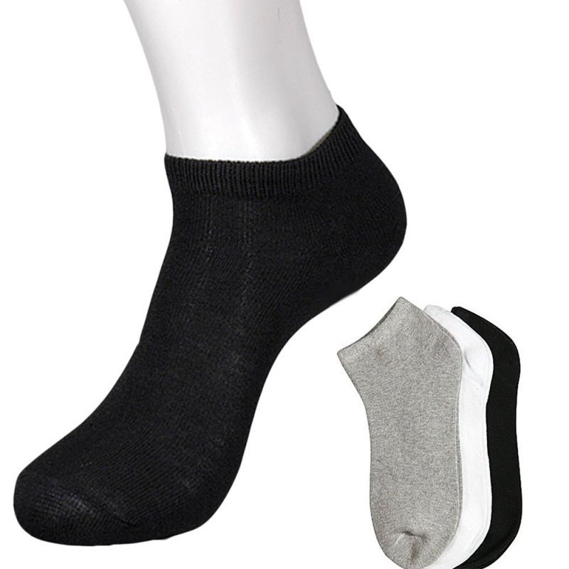 Mens athletic low cut Ankle sock christmas colorful biscuits Short Fit Sock