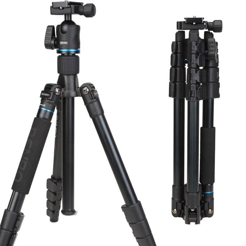 DHL livraison gratuite BENRO IT25 Portable caméra trépied réflexed amovible voyage monopode sac de transport Max chargement 6 kg