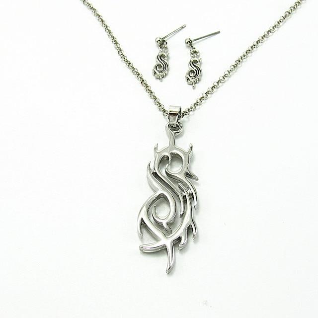 Slipknot rock band pendant necklace pendants for men women fans slipknot rock band pendant necklace pendants for men women fans friends best christmas gift aloadofball Choice Image