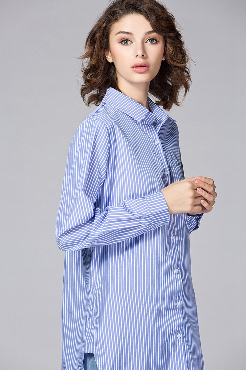 Classic White Shirts for Women Plus Size 3 4 5 XL Casual Loose Long Sleeve Blouse Shirt YWS05 in Blouses amp Shirts from Women 39 s Clothing