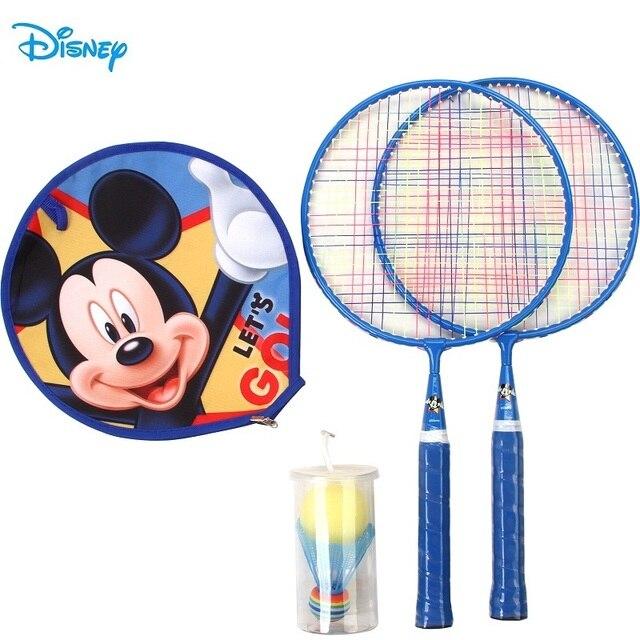 Disney Mickey Children Badminton Rackets Sets Kid Racquet Sports Outdoor Family Games Blue DDA51868-A